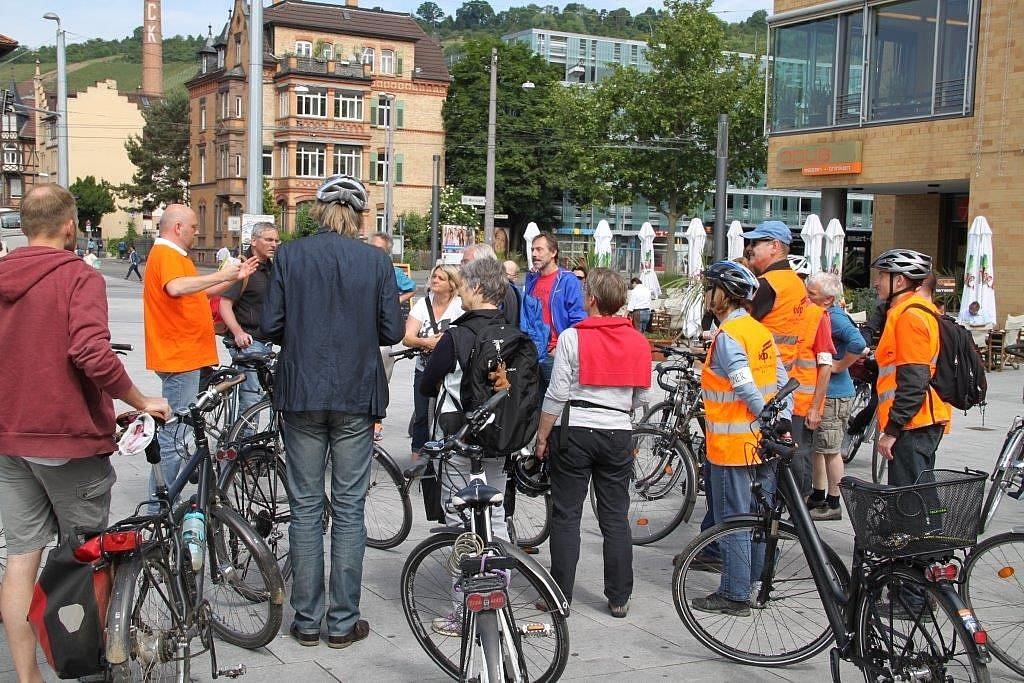 Fahrraddemo Stuttgart